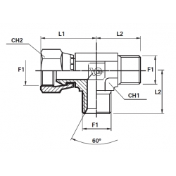 Adaptor T BSP Filet Ext. - Olandeza Lateral