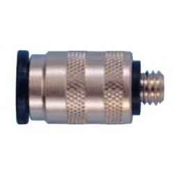 Cuplaj terminal drept tub  4 mm  - M5
