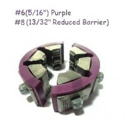 Set bacuri A/C Standard DN08 + Barrier DN10 Violet