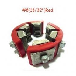 Set bacuri A/C Standard DN10 Rosu