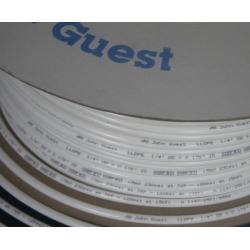 Tub polyethylene LLDPE  6 x 4 mm