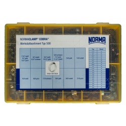 Sortiment coliere NORMA-COBRA W4 500 buc.