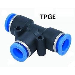 Cuplaj pneumatic reductie T  6 mm - 8 mm - 6 mm TPEG