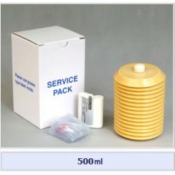 Set cartus + baterie alcalina + husa pt. Pulsarlube M 500 cm³