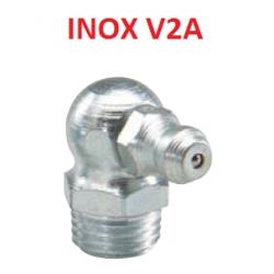 Gresor hidraulic H3 90° DIN71412 inox V2A